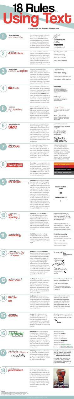 18 regels over het gebruik van tekst via @42bis