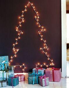 Decoraciones navideñas sin gastar: 5 ideas con adhesivo
