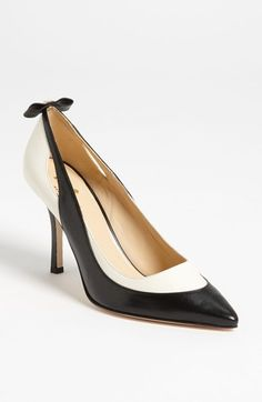 kate spade new york 'precious' pump | Nordstrom.  These go great with the Fall '13 CAbi collection and the black/white trend.  www.janstover.cabionline.com