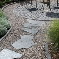 Garden Structures, Gardening Tips, Stepping Stones, Concrete, Yard, Landscape, Outdoor Decor, Terrace Ideas, Rocks