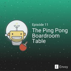Envoy Office Hacks - The Boardroom Ping Pong Table  Rethink your office boardroom by adding a ping pong table. . Follow @producthuntlive