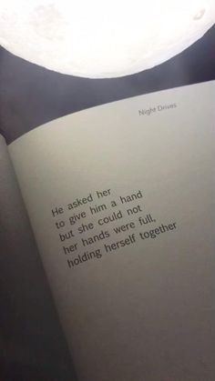 From the book Night Drives by Samantha Camargo on amazon