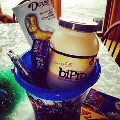 Check out this awesome Easter basket! Don't forget about Mother's Day! #bipro #fitness #wheyprotein #fitfam