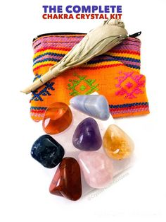 Complete Chakra Crystal Healing Kit | CrystalHealing4Women Sacral Chakra Stones, Chakra Crystals, Healing Stones, Crystal Healing, Second Chakra, Cool Makeup Looks, Crystals For Sale, Chakra Meditation, Crystal Shop
