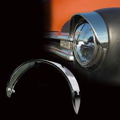 Headlight Visor Universal Type: Hot Rod Kustom Exterior Accessories
