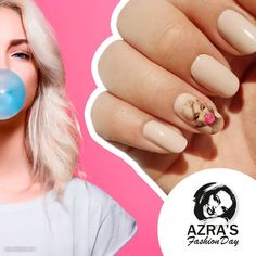 "abc nailstore präsentiert:  Azra's Fashion Day: Marilyn Monroe in 3D  Nailart ""bubble gum"" #nailart #nails #naildesign #abcnailstore #nagelmodellage #nailporn"