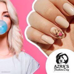 "abc nailstore präsentiert:  Azra's Fashion Day: Marilyn Monroe in 3D  Nailart ""bubble gum"" #nailart #nails #naildesign #abcnailstore #nagelmodellage #nailporn"