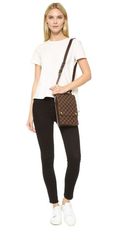 What Goes Around Comes Around Louis Vuitton Portobello Travel Bag (Previously Owned) | SHOPBOP