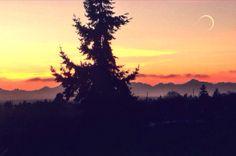 Ballard Sunset Taken by Seattle Sights, Celestial, Sunset, Outdoor, Outdoors, Sunsets, Outdoor Games, The Great Outdoors, The Sunset