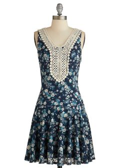 Billowing Bouquet Dress, #ModCloth