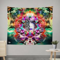 New Electro Wall Tapestries! Features: HD Full-Quality Artwork 100% lightweight polyester with hand-sewn finished edges Extremely vivid colors and crisp lines A