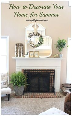 Awesome Decorate Your Home For Summer By Bringing Nature Indoors. Lots Of  Inspiration And Ideas From