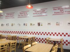 """Five Guys does BRANDING well! They clearly draw attention to testimonials and awards won. Auctioneers need to do the same, to help non-profits understand how your services are better than """"the other guy""""."""