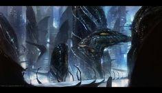 Alien world by johnsonting