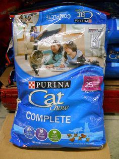 Purina Cat Chow Complete Formula, 18.5-Pound * Trust me, this is great! Click the image. : Best Cat Food