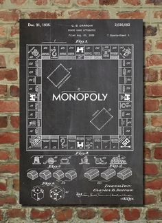 Monopoly oyununu bilmeyen yoktur. Patentinin sahibi çok şanslı :) Hem buluşunu koruyor hemde çok para kazanıyor :)