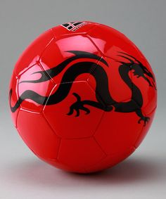 Take a look at this Red Dragon Soccer Ball by Vizari on #zulily today!