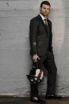 Daniel Gillies for Ferrvor Magazine photographed by John Arsenault