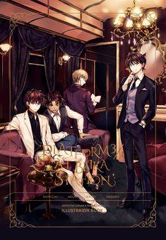 The Gosho Boys _ Artist: joypyonn Conan Comics, Detektif Conan, Garçon Anime Hot, Manga Anime, Handsome Anime Guys, Handsome Boys, Couple Avatar, Detective Conan Wallpapers, Kaito Kuroba