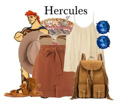 """Hercules"" by megan-vanwinkle ❤ liked on Polyvore featuring Aéropostale, Disney, Satya Twena, Yves Saint Laurent, Whistles, Ash and Kenneth Cole"