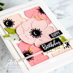 The Stamping Blok: Stampin' Up! Artisan Design Team Blog Hop | Peaceful Poppies Stampin Up Christmas, Prim Christmas, Handmade Christmas, Christmas Cards, Poppy Cards, Stamping Up, Flower Cards, Homemade Cards, Stampin Up Cards