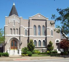 Central Christian (Disciples of Christ) Church, New Albany, Indiana.