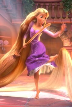Rapunzel is the coolest and the best Disney Princess Walt Disney, Disney Rapunzel, Tangled Rapunzel, Disney Girls, Disney Love, Disney Magic, Disney Art, Disney Princess, Rapunzel Movie