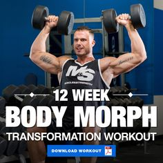 If you're looking to completely transform your physique, we've got the perfect workout for you! This program combines 3 types of training for max results! #workout #physique #bodybuilding #transformation