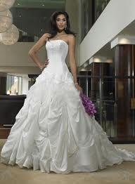 Spot cleaning a wedding dress