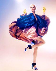 Glam...dancing...