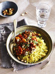 Healthy Diners, Risotto, Good Food, Yummy Food, Polenta, Winter Food, Gnocchi, Quinoa, Wok