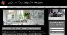 Jojo Online Interior Design is a website that offers online design solutions for homes worldwide.