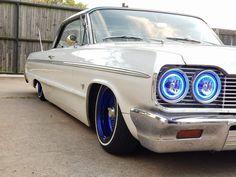 Chevrolet Impala, My Dream Car, Dream Cars, 64 Impala Lowrider, Vintage Tractors, Sweet Cars, Fire Trucks, Custom Cars, Cars And Motorcycles
