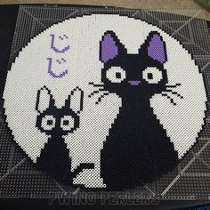 Kiki's Delivery Service perler beads by adventurstin