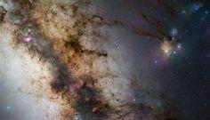 Uma paisagem estelar de 340 milhões de pixeis obtida a partir do Paranal | ESO Brasil