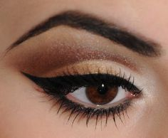"""Oh no!  Pointy brows... no good.  Your brow should not look like an """"A""""... ever!"""