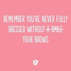 True story! Who's rocking bold benefit brows today!?