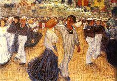Eugene Jansson (1862-1915): Matrosbal, 1909 Chur, Nocturne, Eugene Jansson, Prinz Eugen, Shall We Dance, Rembrandt, Vincent Van Gogh, Dance Music, Olaf