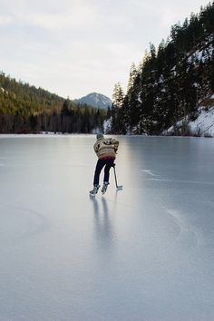 Playing ice hockey on a frozen lake in the dead of winter - awesome! Winter Fun, Winter Cabin, Winter Snow, Adventure Is Out There, Photos, Pictures, Land Scape, The Great Outdoors, Places To Go