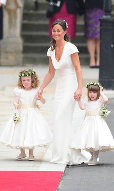 Pippa, born on September 6, 1983, to Carole and Michael Middleton, is the Duchess of Cambridge's younger sister. The party planner was launched into the international spotlight after serving as the maid of honor at Kate's royal wedding in 2011. Since the news of her engagement to millionaire James came to light, the bride-to-be has found herself at the center of the world's attention, yet again.