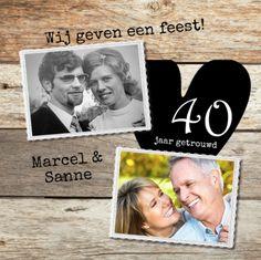 lovz   uitnodiging 40 jaar getrouwd