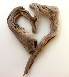 "Driftwood Art by Mother Nature. Titled: ""Shape My Heart""…"