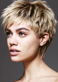 Textured Short Hairstyles 7
