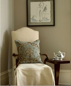 Revere pewter, C.B.I.D. HOME DECOR and DESIGN: LIGHTENING A ROOM WITH PAINT