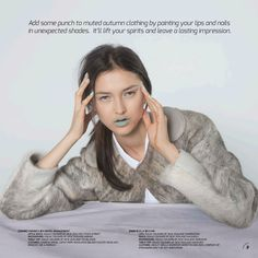 Fur Jacket in Sunday Magazine- Ashley Miella Your Lips, Fur Jacket, Veronica, Fall Outfits, Sunday, Dreadlocks, Magazine, Hair Styles, Clothes