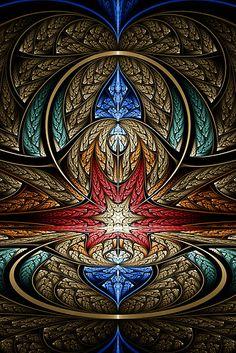 An Elliptic Splits IFS fractal.
