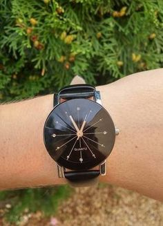 Kup mój przedmiot na #vintedpl http://www.vinted.pl/akcesoria/bizuteria/16141478-mozliwosc-rezerwacji-zegarek-nowy-czarny-z-metkami-galaxy-promocja-idealny-na-mikolajkigwiazdke