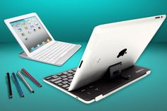 Save 78% on an aluminium iPad case with Bluetooth keyboard, screen protector and touchscreen stylus pen.