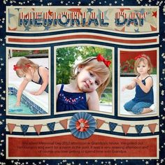 Memorial Day | Remembrance Day | 12X12 Scrapbook Layouts | Scrapbooking Ideas | Creative Scrapbooker Magazine #scrapbooking #memorialday #remembranceday #scrapbooks