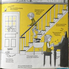 Mira a tu alrededor y escucha, Joy Troth Friedman 1975 Canary Singing, Retro Illustration, Piano Lessons, Great Books, How To Become, Joy, Big Books, Books To Read, Authors